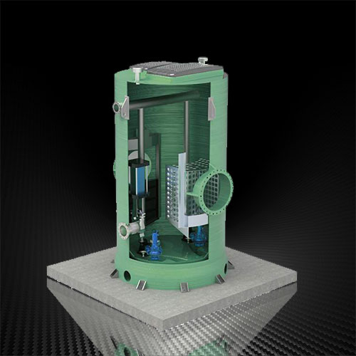 亚博官网入口一体化截流井给排水设备